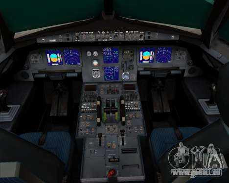 Airbus A321-200 Ural Airlines pour GTA San Andreas salon