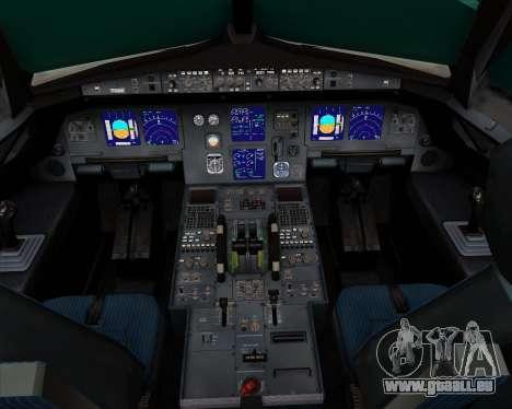 Airbus A321-200 Ural Airlines pour GTA San Andreas salon