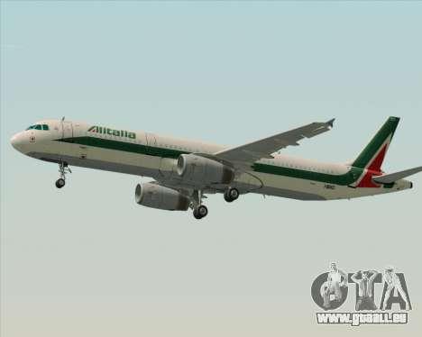 Airbus A321-200 Alitalia pour GTA San Andreas moteur