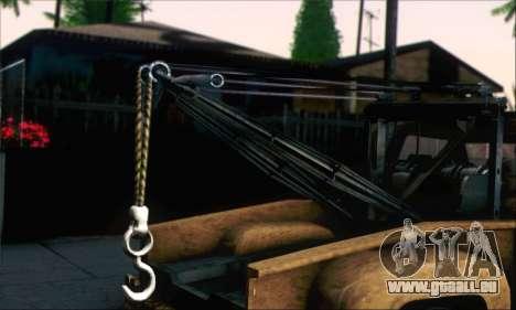 GTA 5 Towtruck Worn für GTA San Andreas zurück linke Ansicht