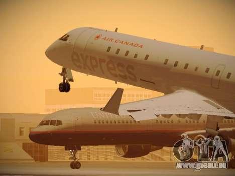Bombardier CRJ-700 Air Canada Express pour GTA San Andreas salon
