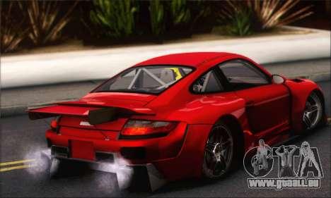 Porsche 997 Turbo Tunable pour GTA San Andreas vue de côté