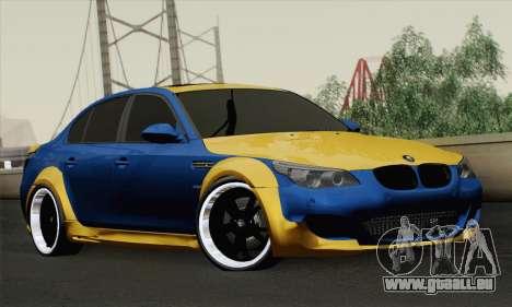 BMW M5 E60 Lumma für GTA San Andreas