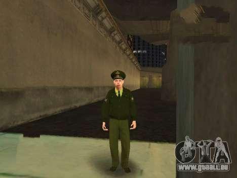 Lieutenant Sokolov pour GTA San Andreas quatrième écran