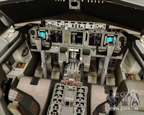 Boeing 737-800 Gol Transportes Aéreos für GTA San Andreas Innen