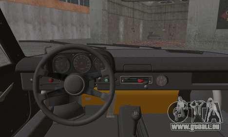 Porsche 914 pour GTA San Andreas sur la vue arrière gauche