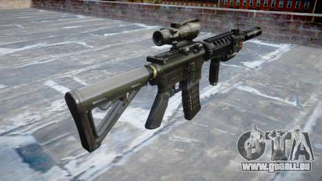 Maschine Taktische M4A1 CQB für GTA 4 Sekunden Bildschirm