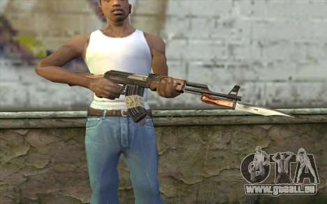 AK47 from Firearms v1 für GTA San Andreas dritten Screenshot