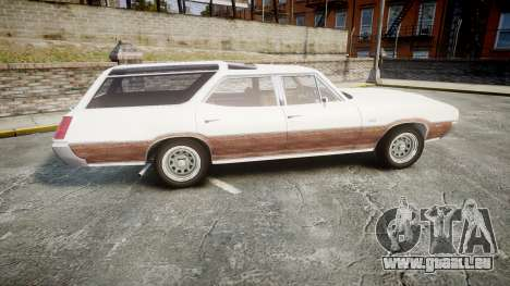Oldsmobile Vista Cruiser 1972 Rims1 Tree3 für GTA 4 linke Ansicht