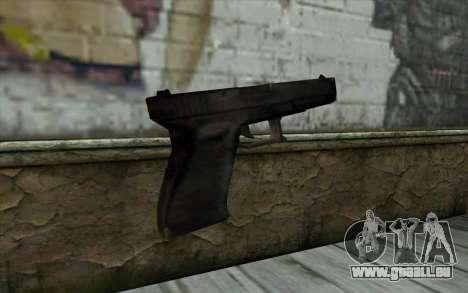 Glock from Beta Version für GTA San Andreas zweiten Screenshot