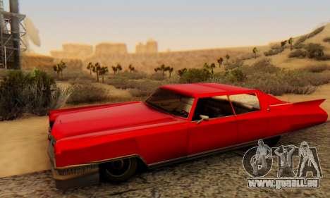 Cadillac Stella II pour GTA San Andreas vue de droite