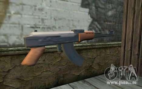 AK47 from Beta Version für GTA San Andreas zweiten Screenshot