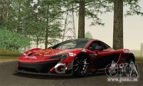 McLaren P1 HQ pour GTA San Andreas moteur