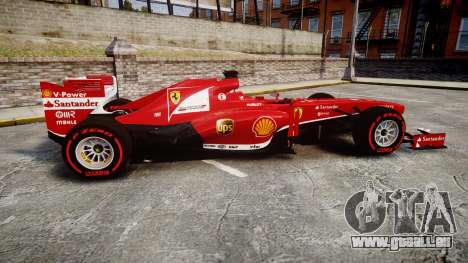 Ferrari F138 v2.0 [RIV] Alonso TSSD für GTA 4 linke Ansicht
