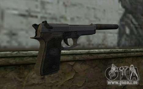 M9A1 Beretta from Spec Ops: The Line für GTA San Andreas zweiten Screenshot