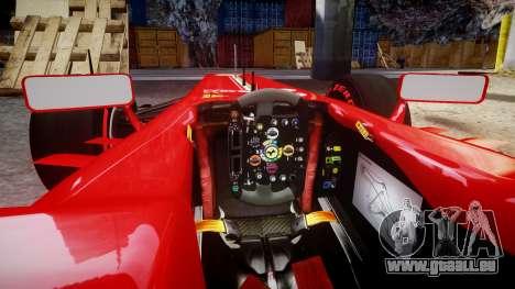 Ferrari F138 v2.0 [RIV] Alonso TSSD für GTA 4 Innenansicht