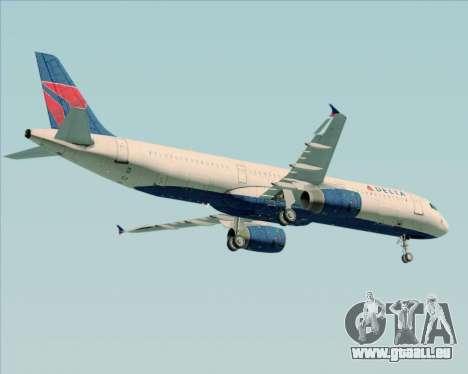 Airbus A321-200 Delta Air Lines pour GTA San Andreas