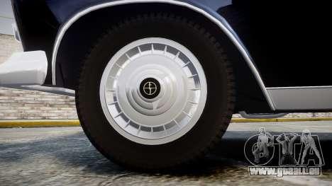 FSO Warszawa Ghia 1959 pour GTA 4 Vue arrière