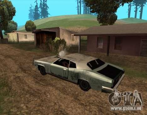 Post-Apocalyptique Boucanier pour GTA San Andreas sur la vue arrière gauche