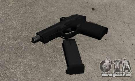 Pistolet FNP-45 pour GTA 4 secondes d'écran