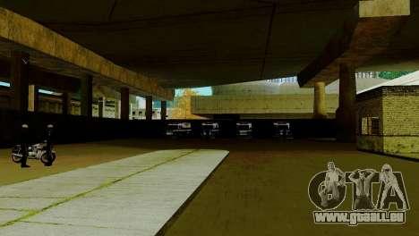 La renaissance de tous les postes de police pour GTA San Andreas deuxième écran