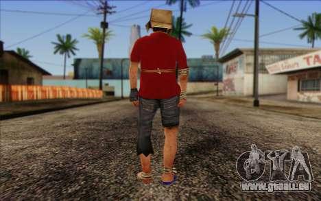 Vagabonds Skin 2 pour GTA San Andreas deuxième écran