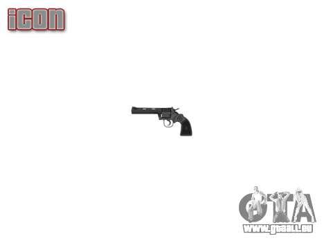 Revolver Colt Python .357 Élite pour GTA 4 troisième écran
