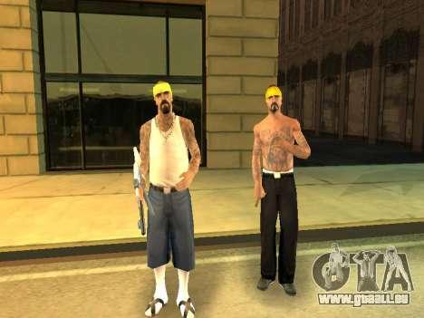 Modifier les zones de gangs et de leurs armes pour GTA San Andreas sixième écran