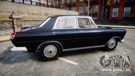 FSO Warszawa Ghia 1959 pour GTA 4 est une gauche