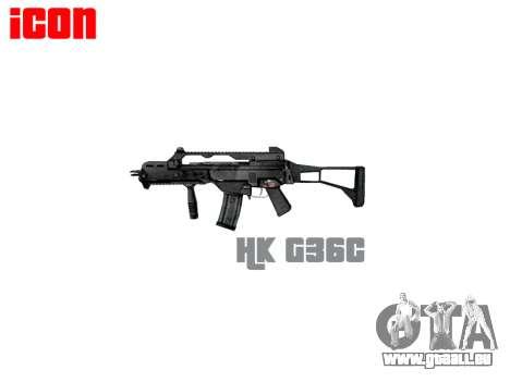 STURMGEWEHR HK G36C für GTA 4 dritte Screenshot