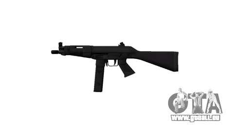 Pistolet Taurus MT-40 buttstock1 icon3 pour GTA 4 troisième écran