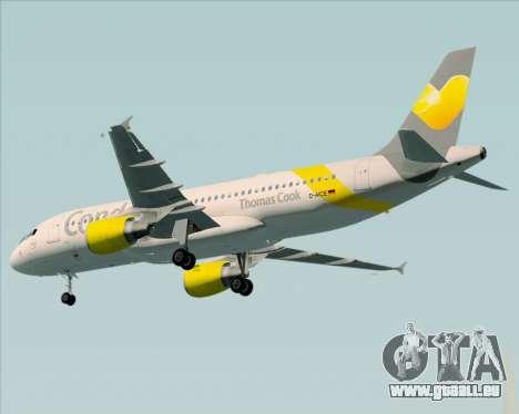Airbus A320-212 Condor für GTA San Andreas Rückansicht