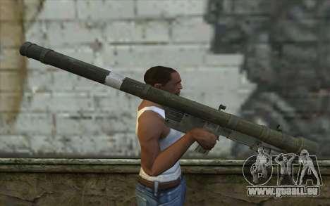 Flèche (Battlefield: Vietnam) pour GTA San Andreas troisième écran