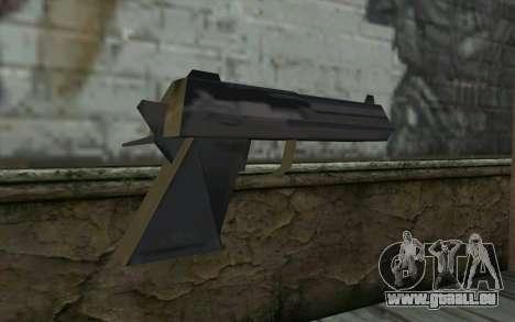 Desert Eagle from Cutscene pour GTA San Andreas deuxième écran