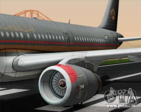 Airbus A321-200 Royal Jordanian Airlines für GTA San Andreas Motor