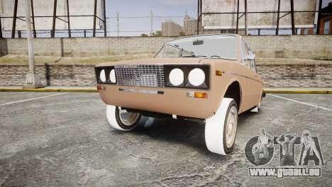 VAZ-2106 hooligan azerbaïdjanais style pour GTA 4