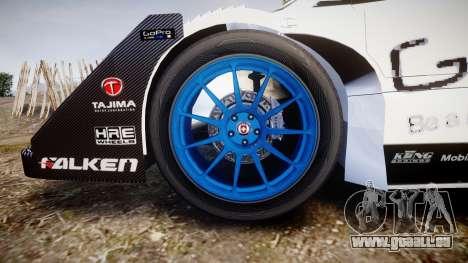 Suzuki Monster Sport SX4 2011 pour GTA 4 Vue arrière