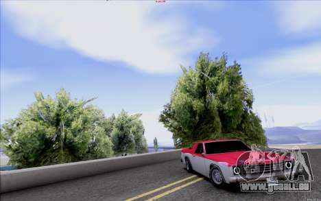 New Picador pour GTA San Andreas vue arrière