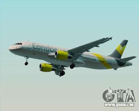 Airbus A320-212 Condor für GTA San Andreas linke Ansicht