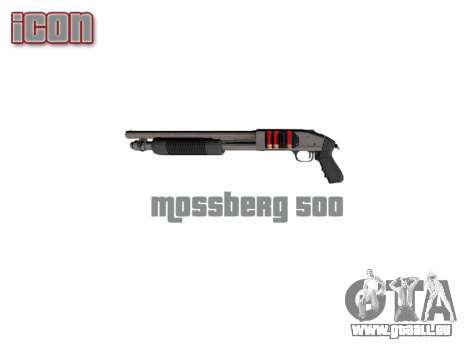 Fusil à pompe Mossberg 500 icon3 pour GTA 4 troisième écran
