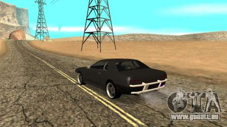 Elegy pour GTA San Andreas laissé vue