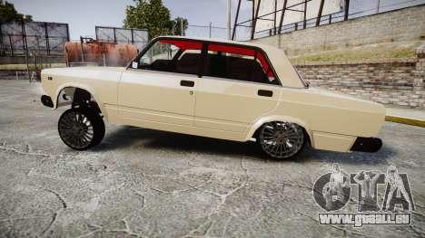 VAZ-2107 azerbaïdjanais style pour GTA 4 est une gauche