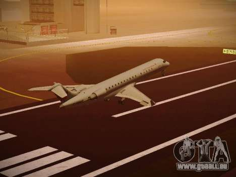 Bombardier CRJ-700 Air Canada Express pour GTA San Andreas vue de côté