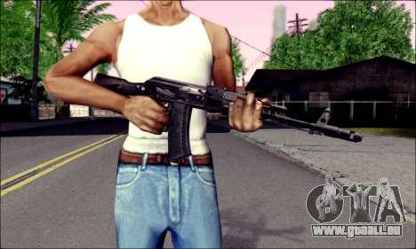 AK-74M für GTA San Andreas dritten Screenshot