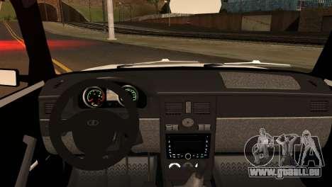 VAZ 2104 & 2106 pour GTA San Andreas sur la vue arrière gauche