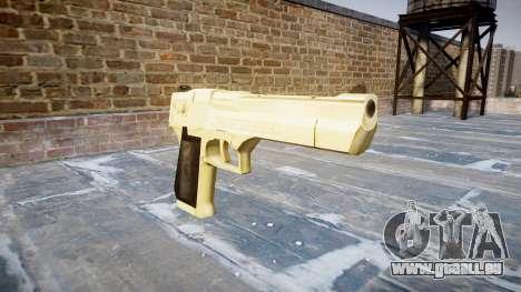 PointBlank or Desert Eagle pistolet pour GTA 4