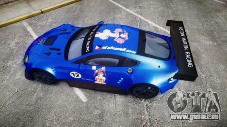 Aston Martin Vantage GTE Nico Yazawa pour GTA 4 est un droit