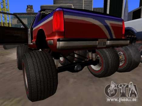 De nouvelles textures Monstre pour GTA San Andre pour GTA San Andreas vue de droite