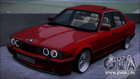 BMW 525i E34 für GTA San Andreas Rückansicht