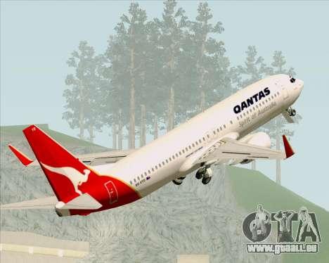 Boeing 737-838 Qantas (Old Colors) pour GTA San Andreas